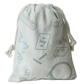 China Multi - Purpose Cotton Canvas Drawstring Bag For Promotional Gifts Using supplier