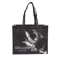 China Customized Logo Polypropylene Tote Bags Light Weight Wash In Cold Water supplier