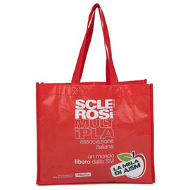 China Corrosion Prevention Polypropylene Tote Bags With Silk Screen Printing supplier