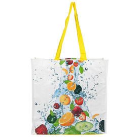China Custom Made Polypropylene Tote Bags For Shopping And Daily Using Washable supplier