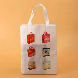 China Economical Small Non Woven Tote Bags / Light Weight Non Woven Laundry Bag supplier