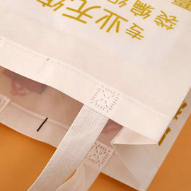 China Rope Harness Non Woven Fabric Bags For Market Shopping Wear Resistant supplier