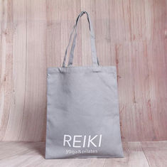 China Heavy Duty Cotton Canvas Tote Bags Bulk With Laminated Full Color Printing supplier