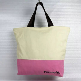 China Heat Transfer Grocery Cotton Canvas Tote Bags For Ladies Multi Color Optional supplier