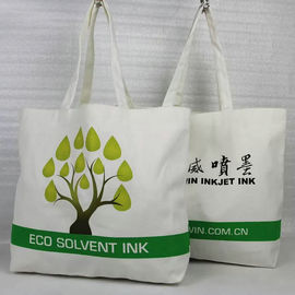 China Mini Custom Printed Canvas Tote Bags , Reusable Cotton Tote Shopping Bag supplier