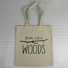 China Digital Imprint Cotton Canvas Tote Bags For Office Packing Heat Transfer supplier