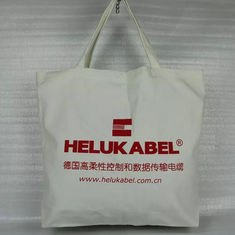 China Large Plain Cotton Canvas Tote Bags Silk Screen Printing Hot Stamping supplier