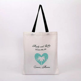 China Beautiful Reusable Cotton Canvas Tote Bags For Ladies Customized Size supplier