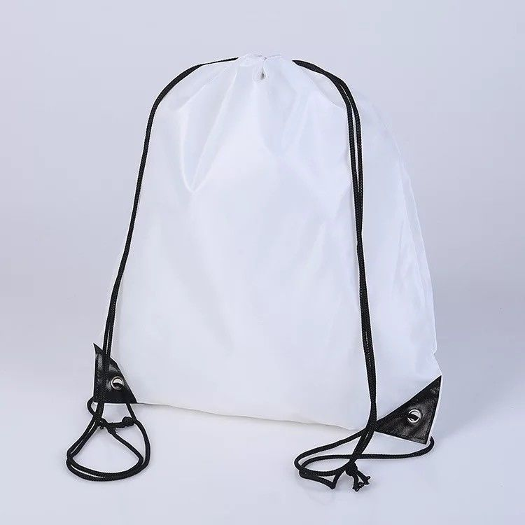 bf796ad0dc China Trainning White Drawstring Backpack , Waterproof Large Drawstring  Sports Bag supplier