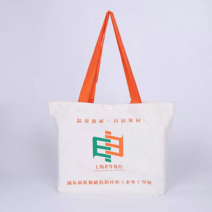 db791ccd9d2 Promotional 100% Cotton Canvas Tote Bags Bulk Laminated Full Color ...