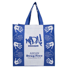 China Waterproof Polypropylene Reusable Bags / Wear Resistant Poly Tote Bags factory