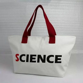 China Handled Personalised Shopping Bags Canvas , OEM Extra Large Canvas Tote Bags factory