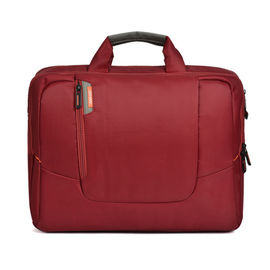 Durable Red Oxford Laptop Bag For Office Man 14 Inch Offset Printing
