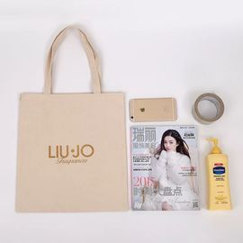 China Eco Friendly  Blank Canvas Tote Bags  / High Strength Blank Canvas Bags factory