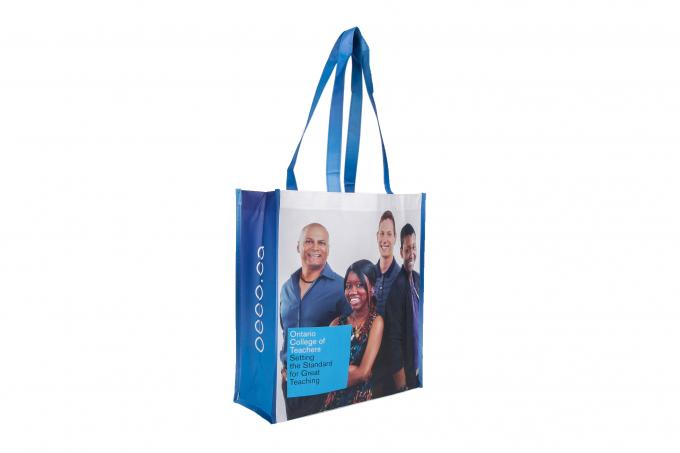 Personalized Large PP Shopping Bag , Heavy Duty Polypropylene Gift Bags
