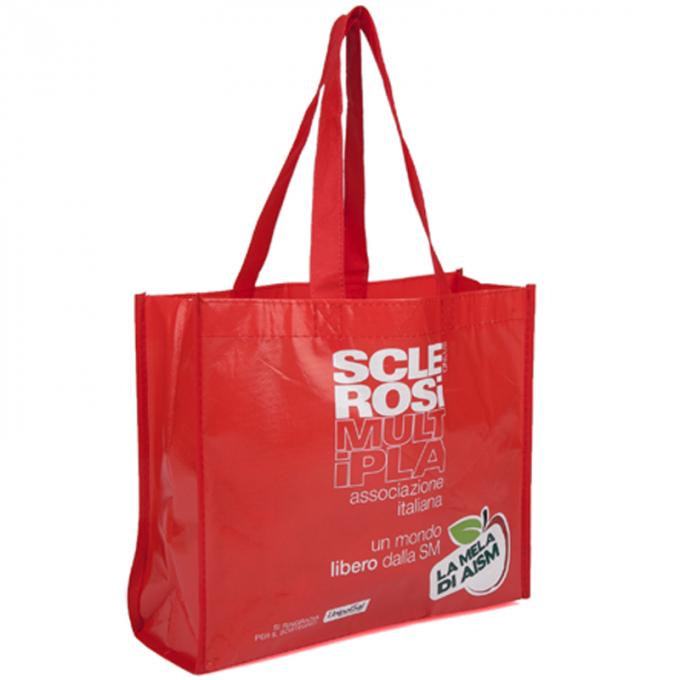 Corrosion Prevention Polypropylene Tote Bags With Silk Screen Printing
