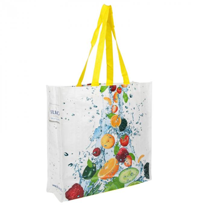 Custom Made Polypropylene Tote Bags For Shopping And Daily Using Washable