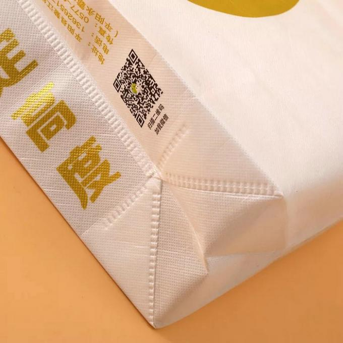 Rope Harness Non Woven Fabric Bags For Market Shopping Wear Resistant