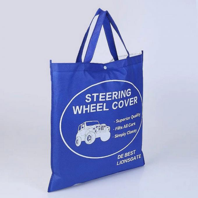 Heavy Duty Non Woven Shopping Bag / Waterproof Large Non Woven Tote Bag