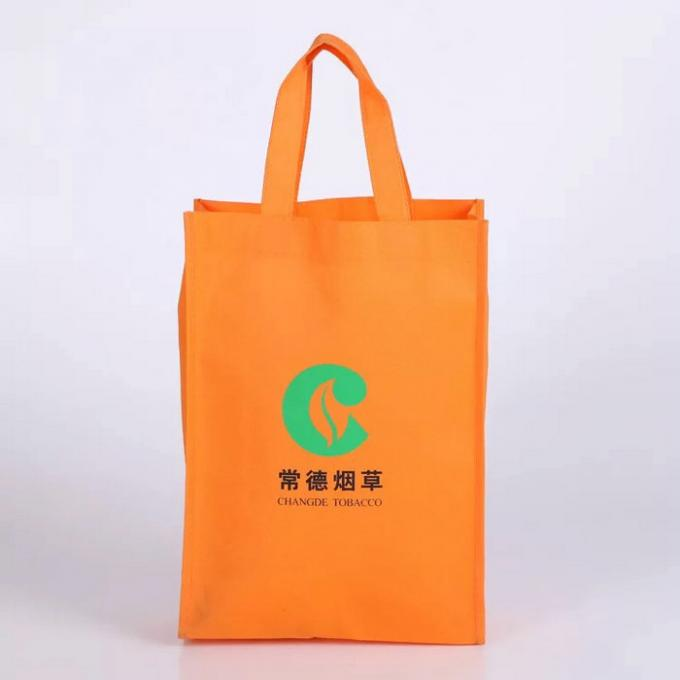 Recycled Non Woven Plastic Bags / Economical PP Non Woven Shopping Bags
