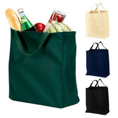 Durable Custom Gift Bags With Logo / Green Personalized Gift Bags Bulk